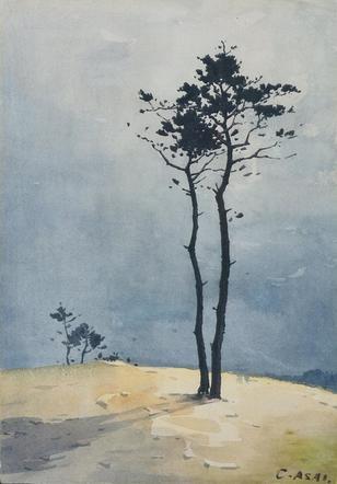 浅井 忠「樹木」.jpg