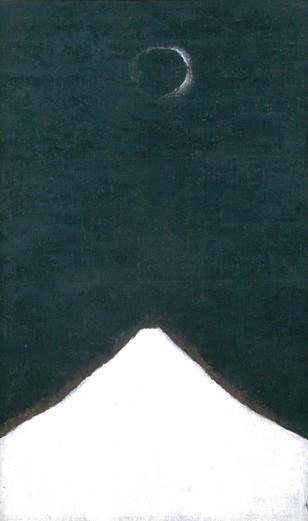 田村一男《白い峯》.jpg