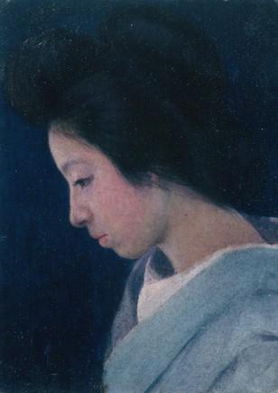 岡田三郎助「婦人像」.jpg