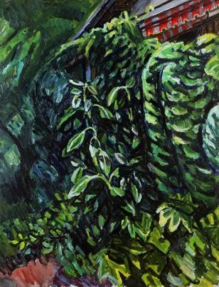中村研一《夏の庭》1946年 (612x800).jpg