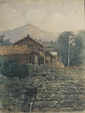 浅井  忠「農家風景」1887年頃.jpg