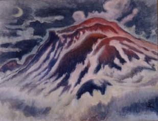 小山敬三「浅間山黎明」1959年.jpg