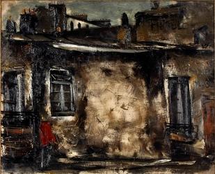 佐伯祐三「パリ風景」1925年.JPG