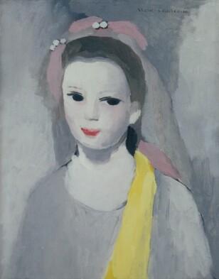 ローランサン《黄色いスカーフの少女》.jpg